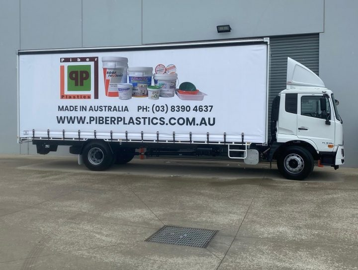 Experience The Convenience of Timely Delivery with the new Piber Plastic Truck